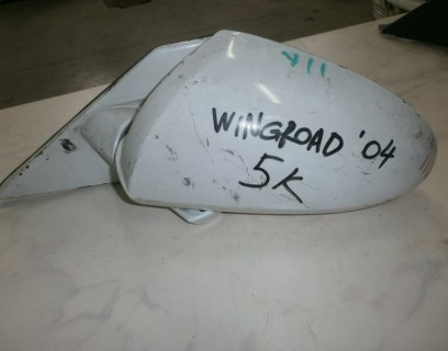 Зеркало Nissan Wingroad WFY11, WHNY11, WHY11, WPY11,WRY11 QG18 2003 левое