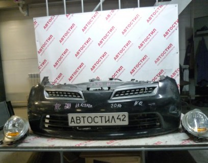 Бампер Nissan March AK12, BK12, BNK12, K12,YK12 CR12 2009 передний