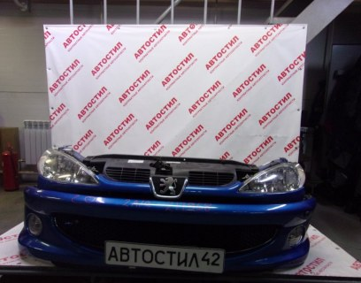Nose cut Peugeot 206 VF32 TU5JP4 2005